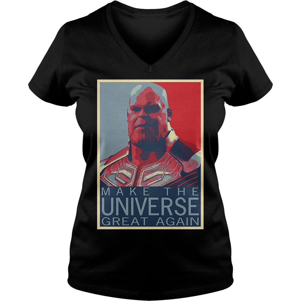 Thanos Make The Universe Great Again V Neck