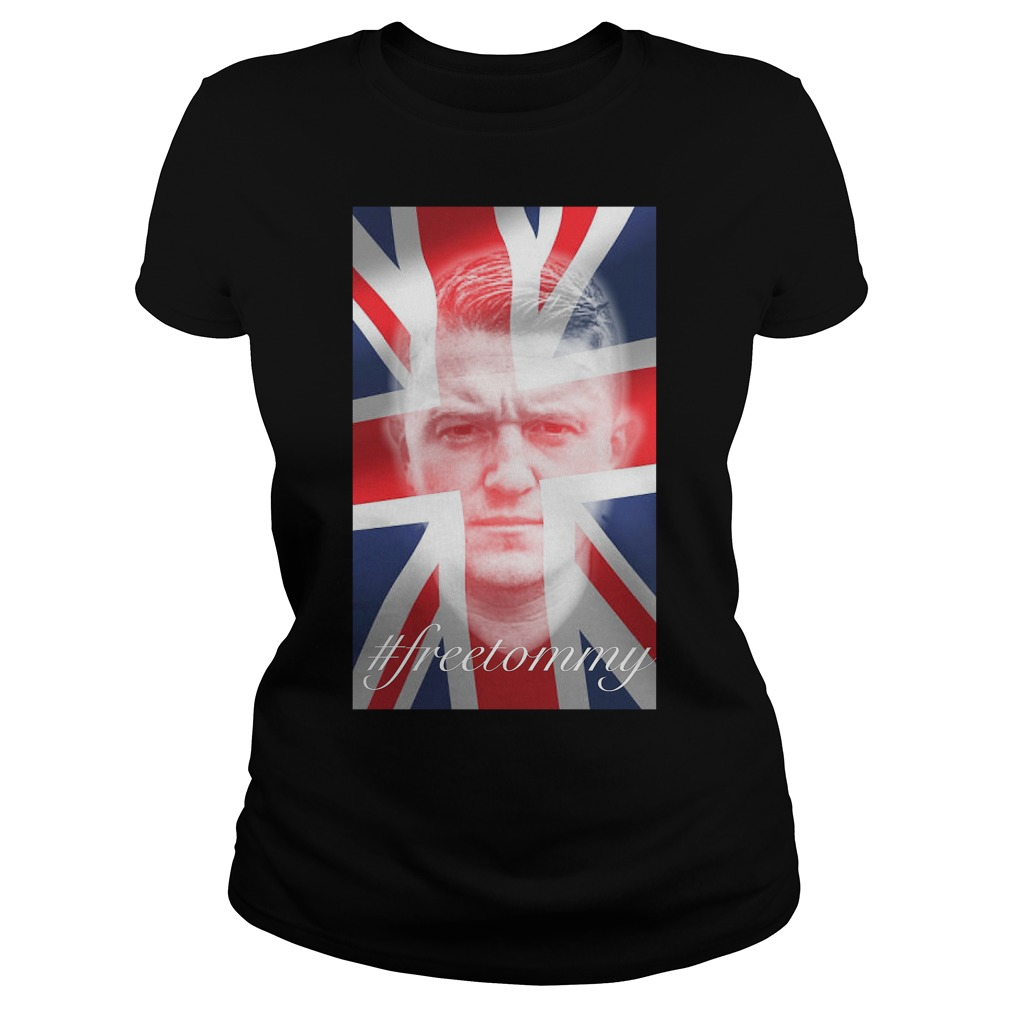 Tommy Robinson #freetommy Ladies