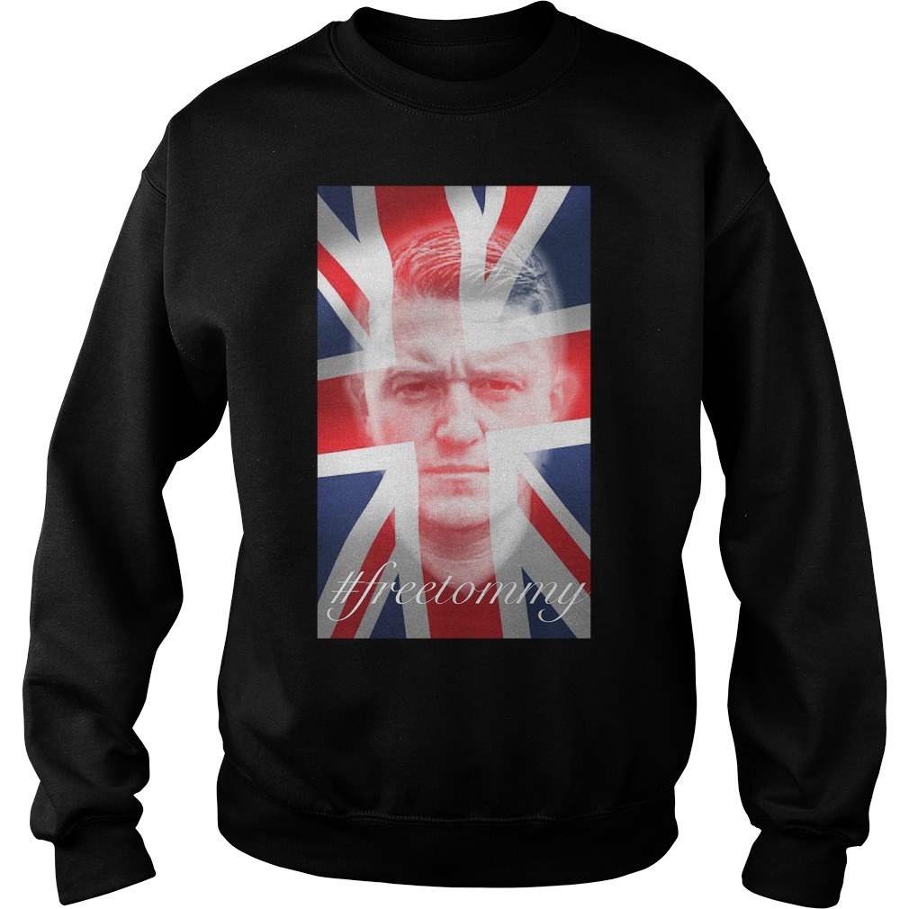 Tommy Robinson #freetommy Sweater