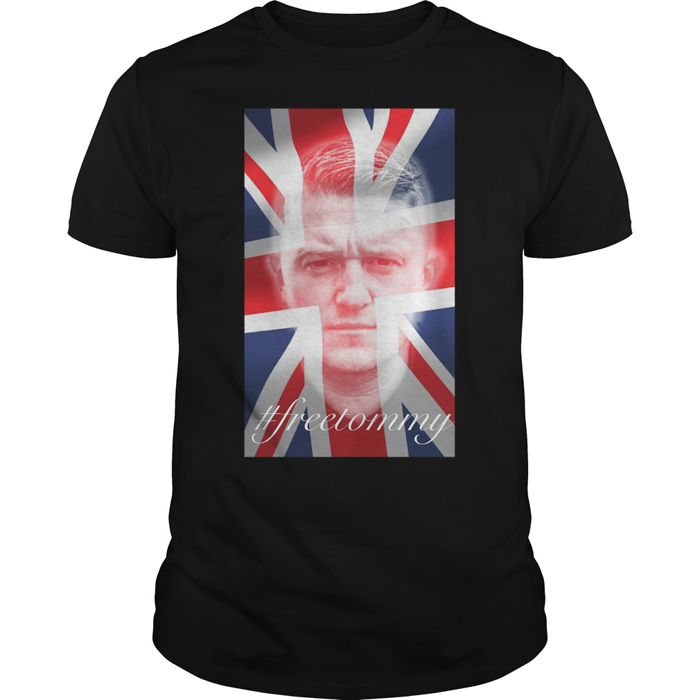 Tommy Robinson #freetommy T Shirt