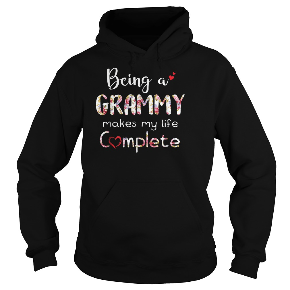 Being A Grammy Makes My Life Complete T-Shirt Hoodie