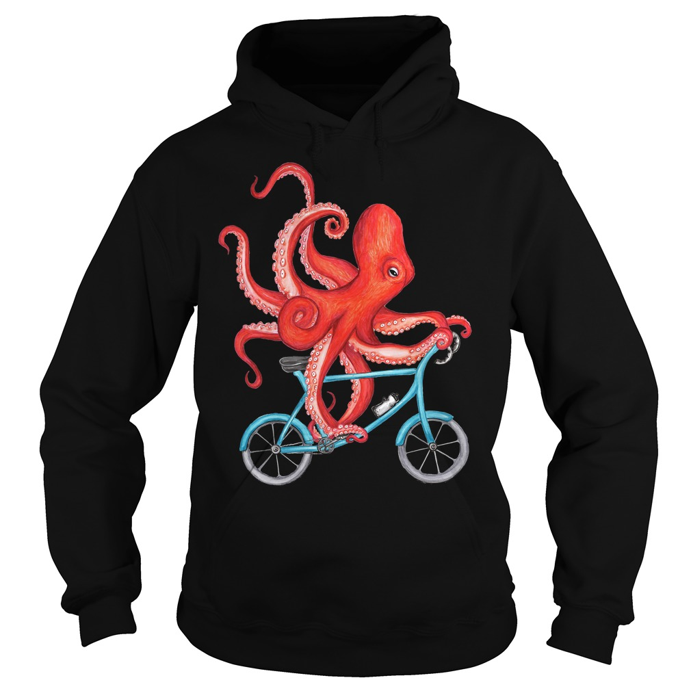 Best Price Cycling Octopus T-Shirt Hoodie