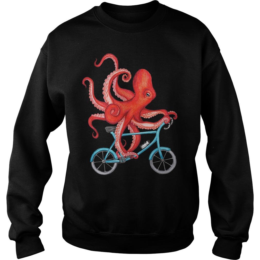 Best Price Cycling Octopus T-Shirt Sweatshirt Unisex