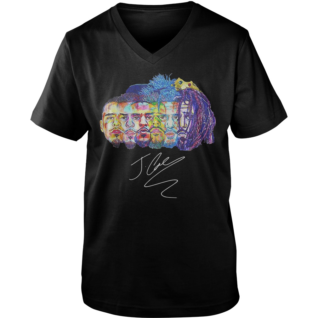 Best Price Evolution of J Cole T-Shirt Guys V-Neck
