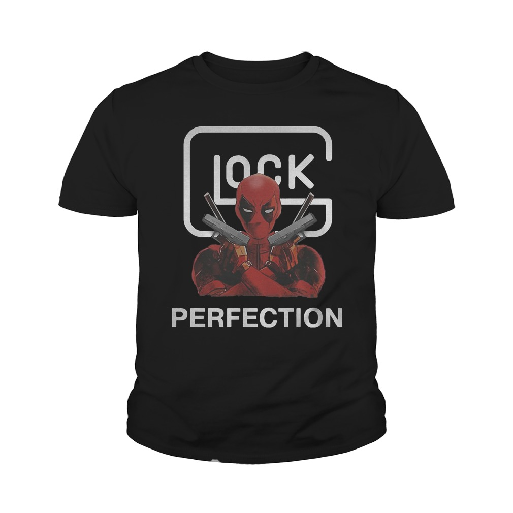 Best Price Glock Deadpool Perfection T-Shirt Youth Tee