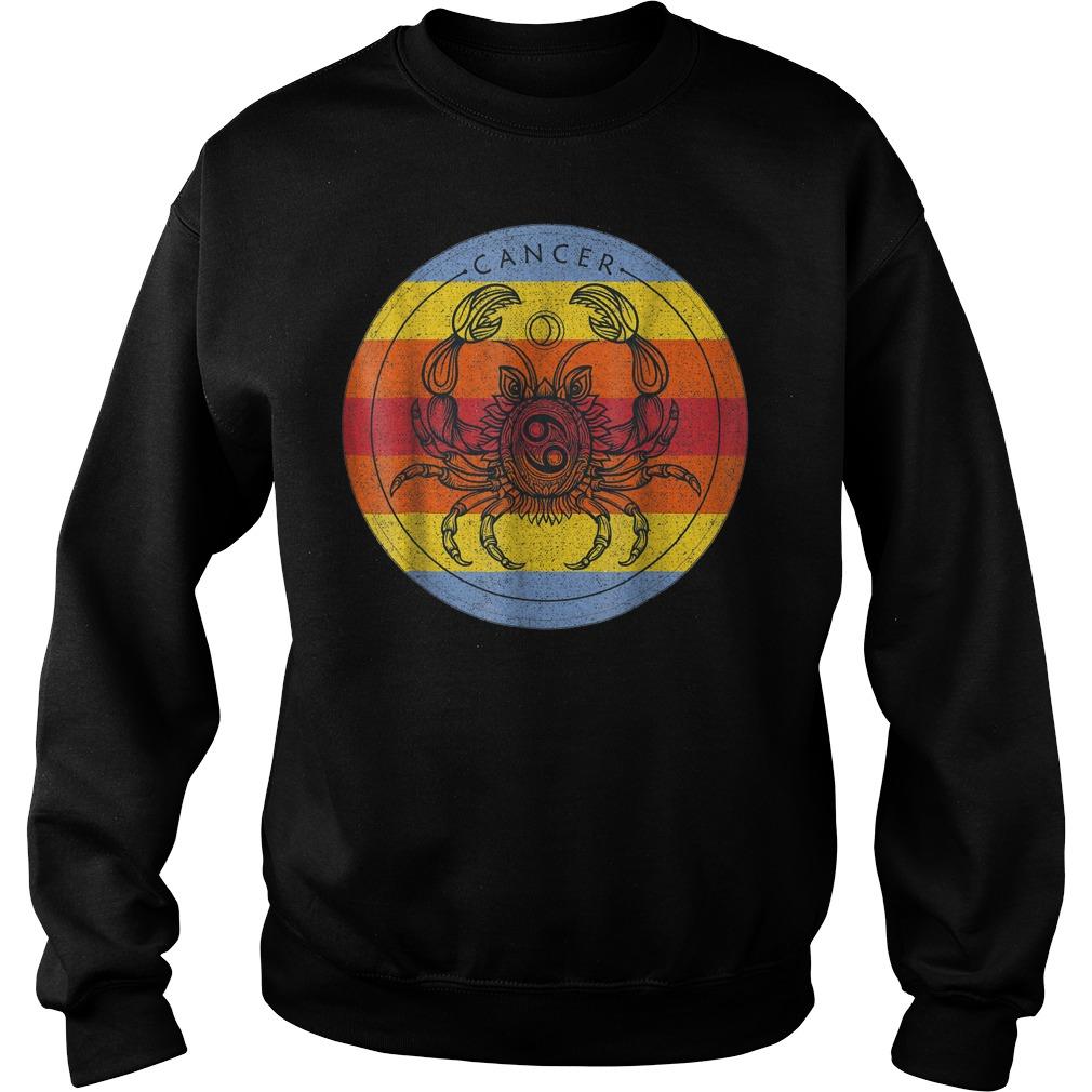 Cancer Zodiac Sign T-Shirt Sweat Shirt