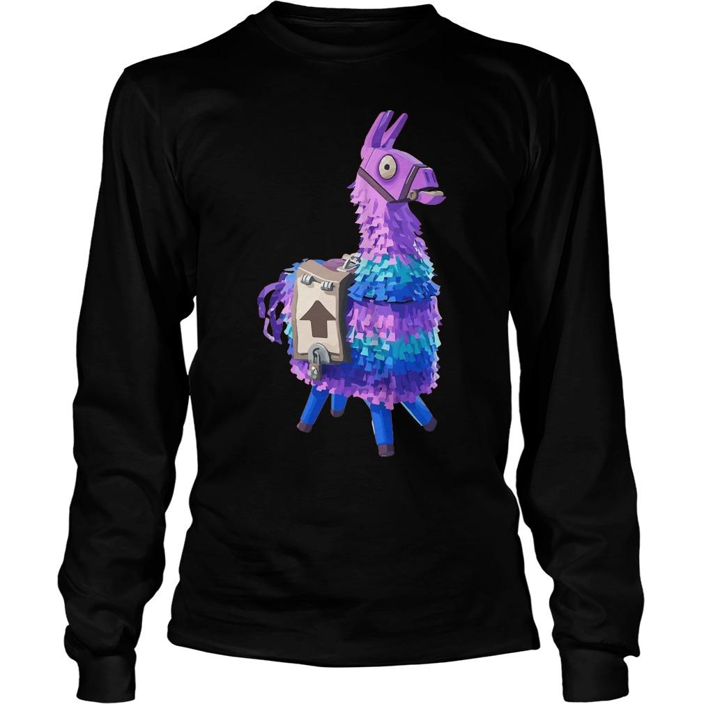 Fortnite Llama Night Shirt Fortnite Llama T Shirt Hoodie Sweater Longsleeve T Shirt