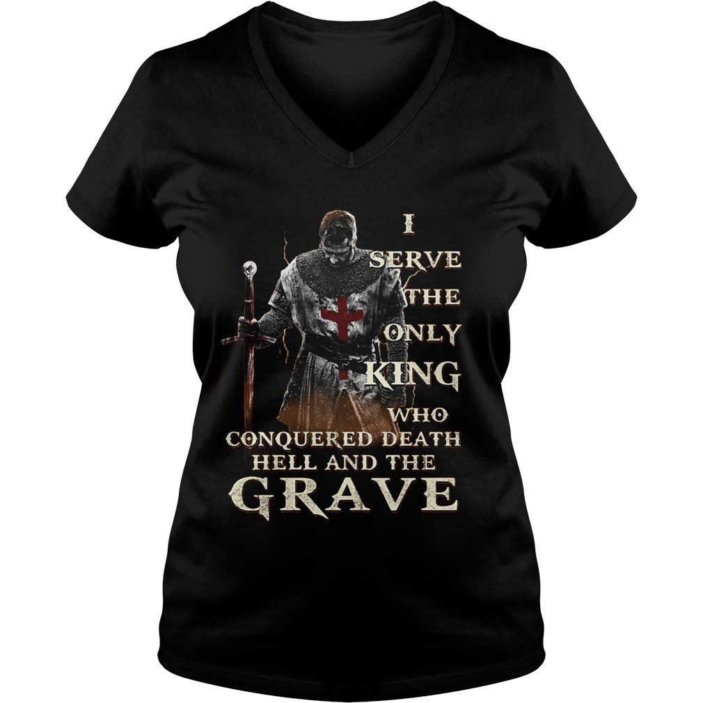 GraveKnight TemplarOver 1000 Solds T-Shirt Ladies V-Neck