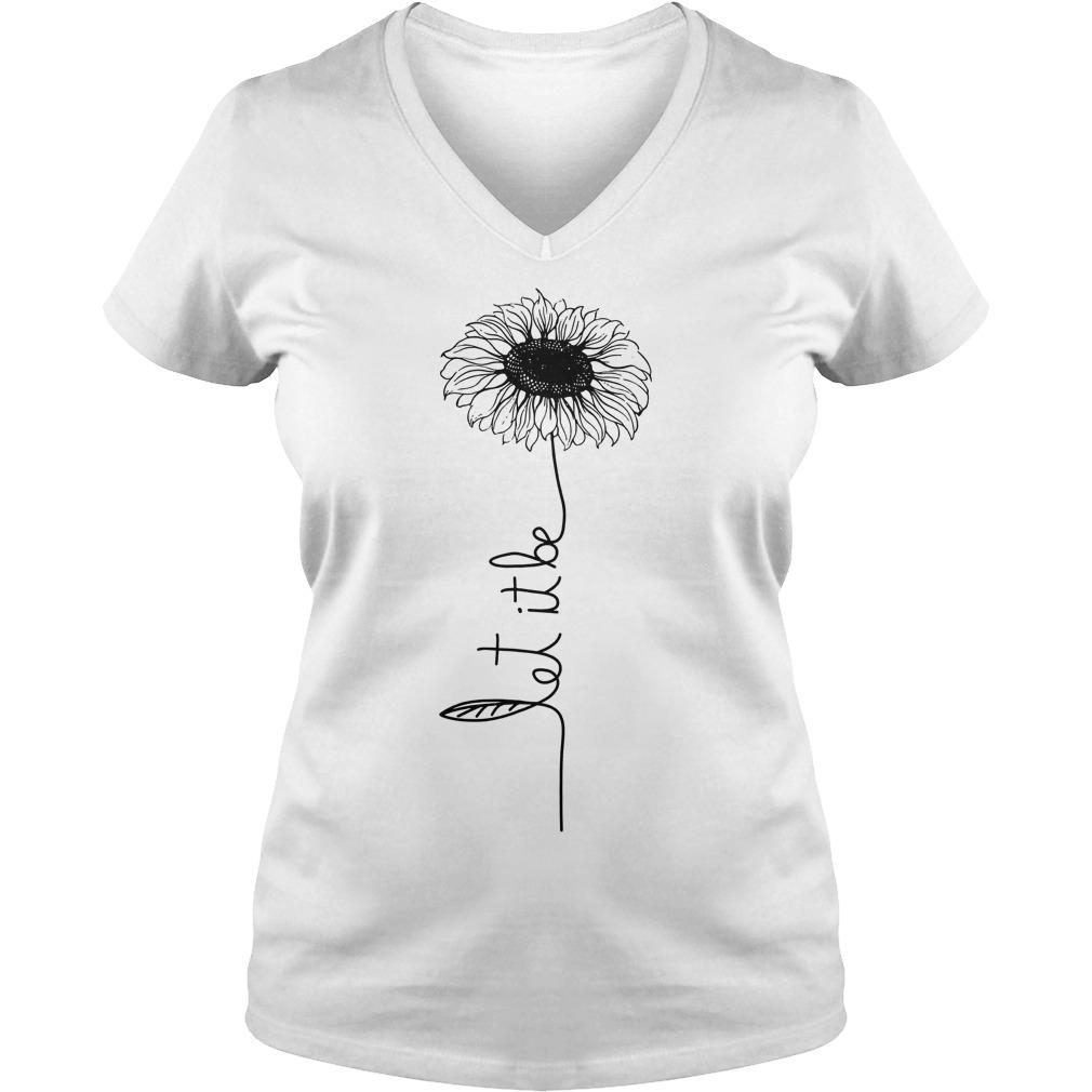 Hippie Gypsy Soul Lover T-Shirt Ladies V-Neck