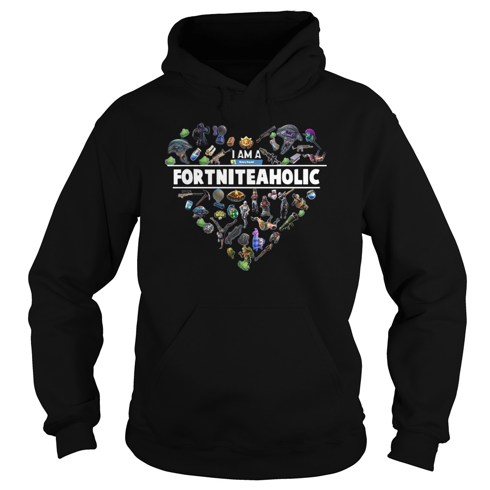 I Am A Number 1 FortniteaholicT-Shirt Hoodie