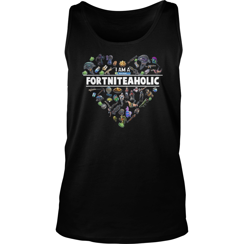 I Am A Number 1 FortniteaholicT-Shirt Unisex Tank Top