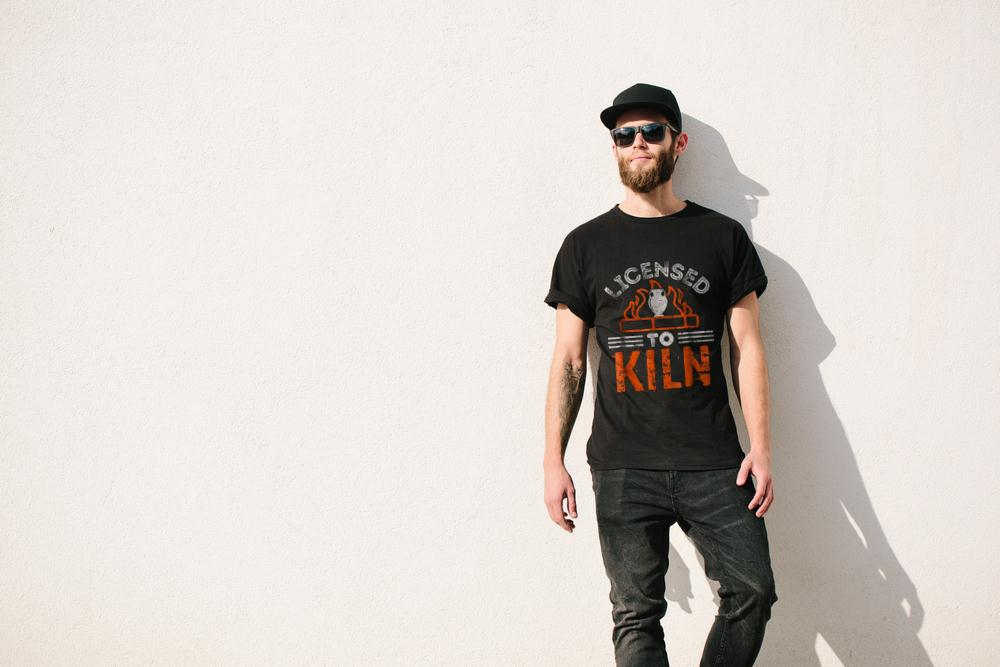 Licensed To Kiln T Shirt