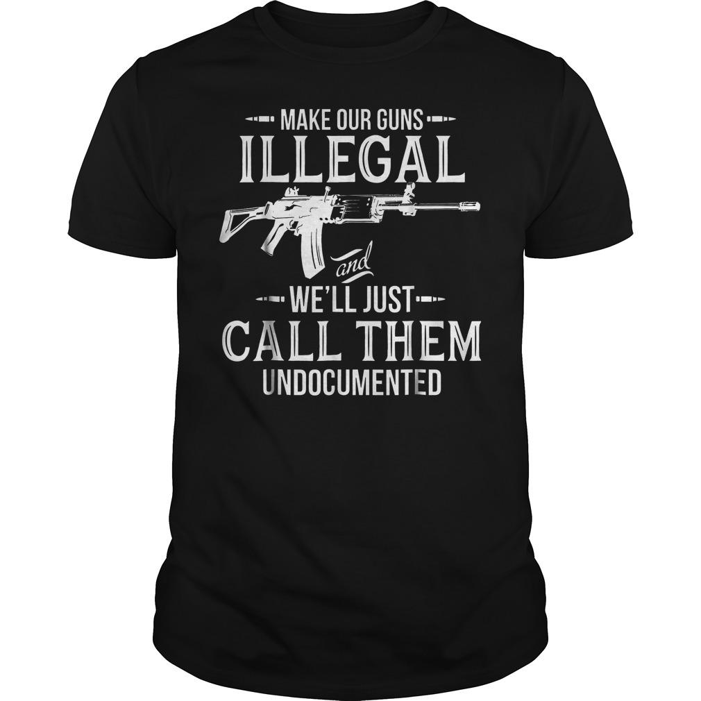 Make Our Guns Illegal Guys Tee.jpg