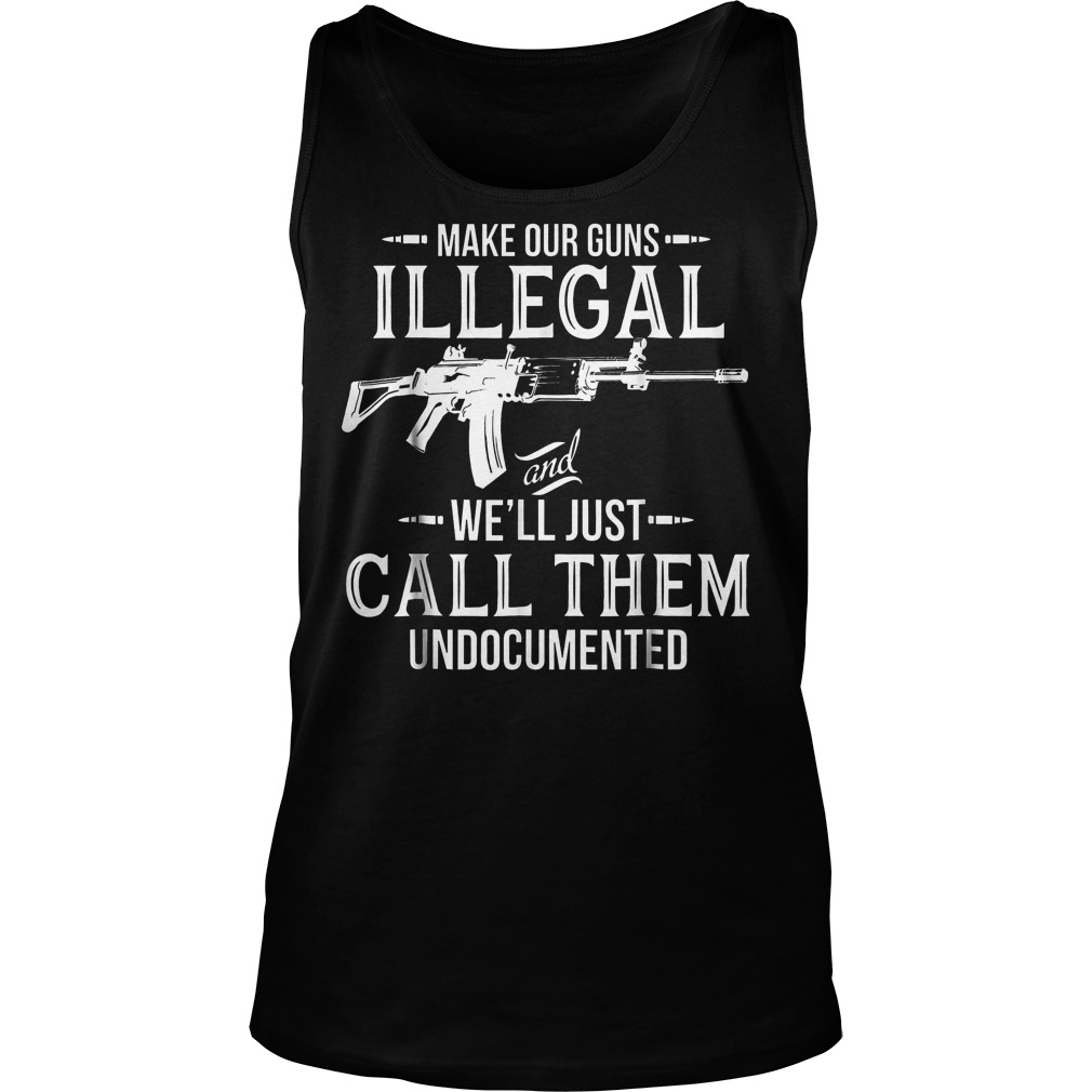 Make Our Guns Illegal Unisex Tank Top