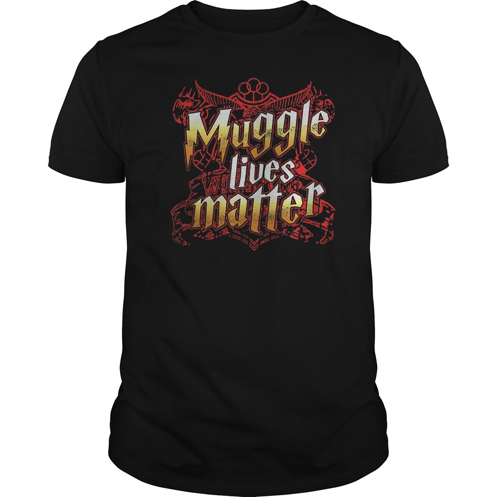 Muggle Lives Matter T-Shirt Classic Guys / Unisex Tee
