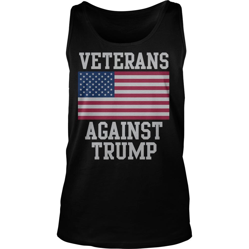 Official Veterans Against Trump T-Shirt Tank Top Unisex