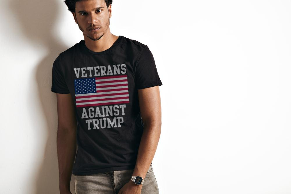 Official Veterans Against Trump T Shirt