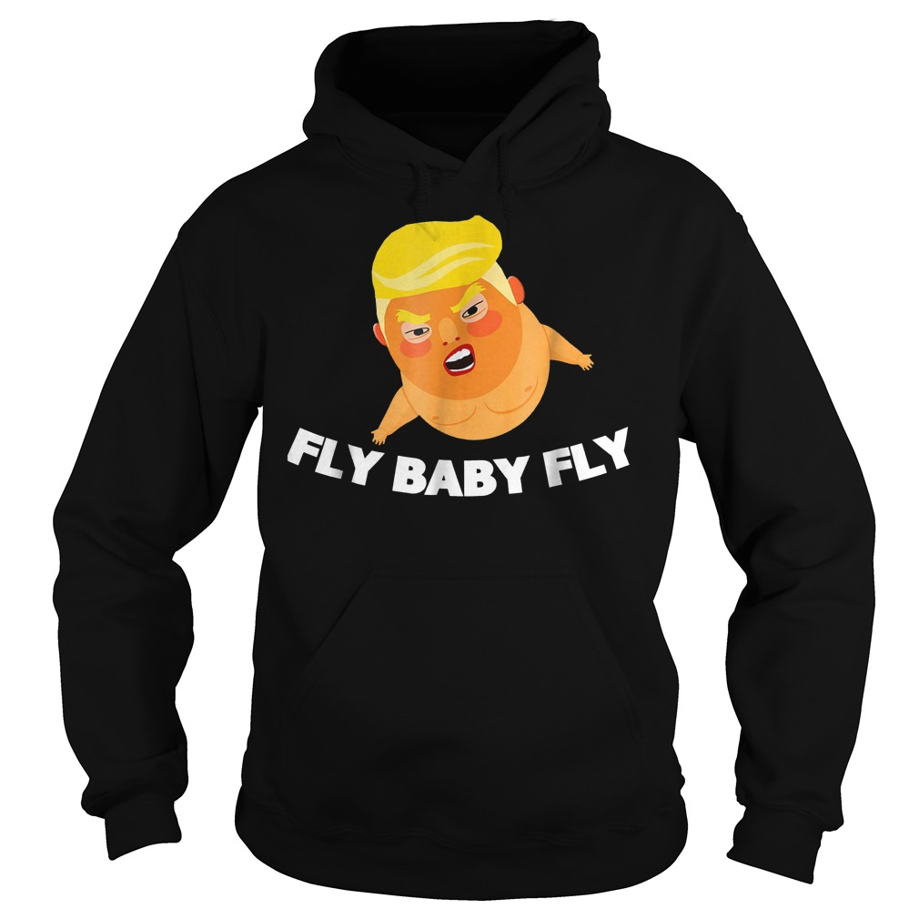 Offiicial Babysitter Baby Fly Trump T-Shirt Hoodie