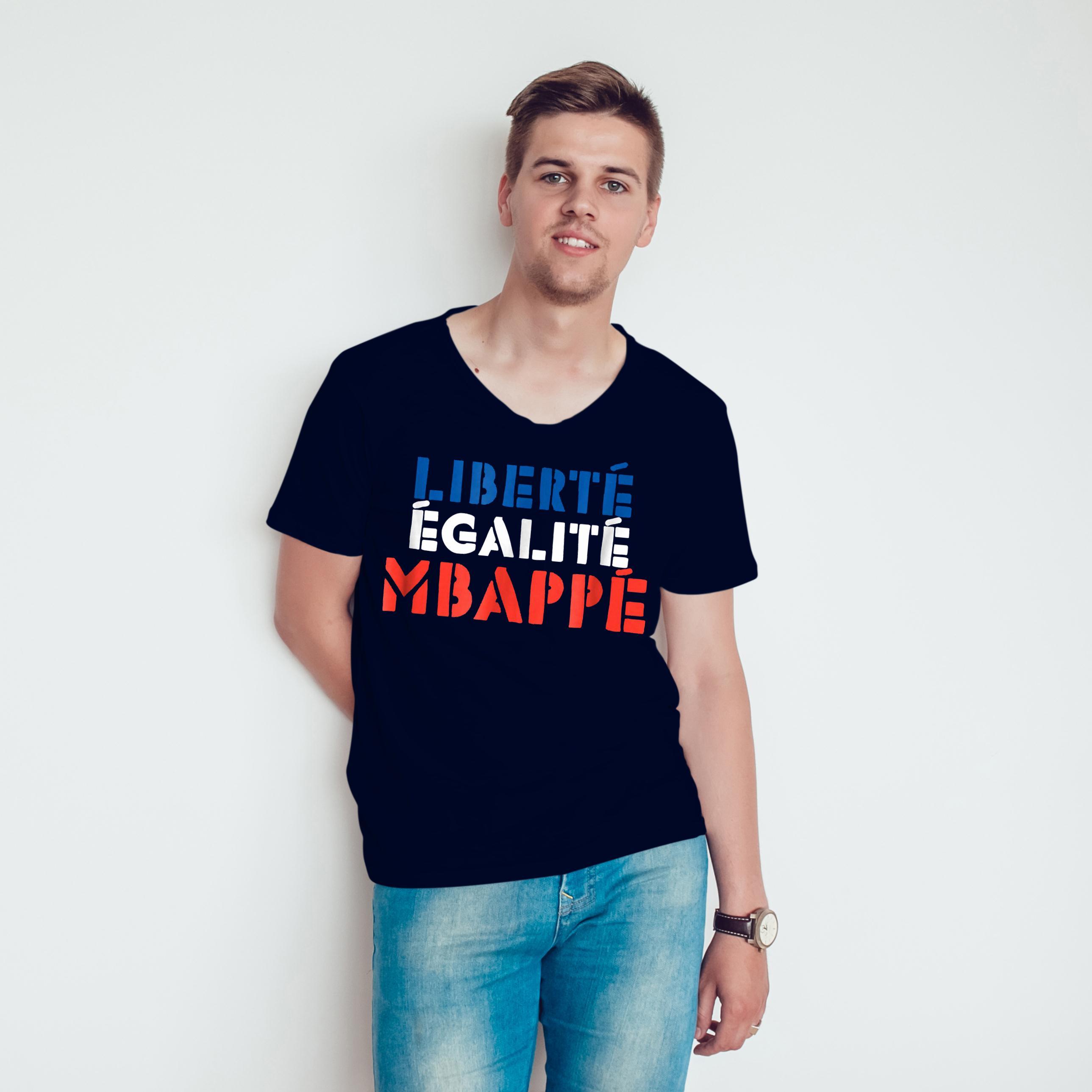 Premium Liberte Egalite Mbappe T Shirt