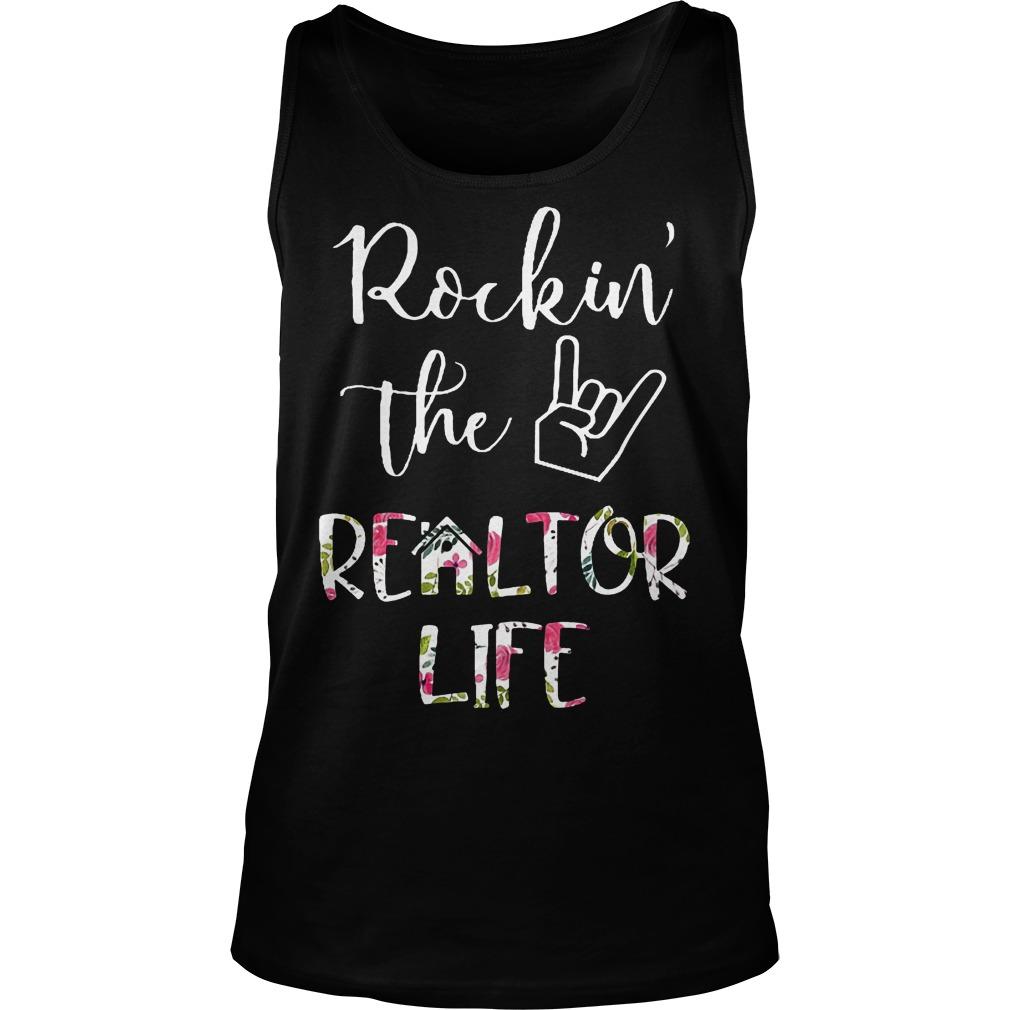 Rockin' the Realtor Life T-Shirt Tank Top Unisex