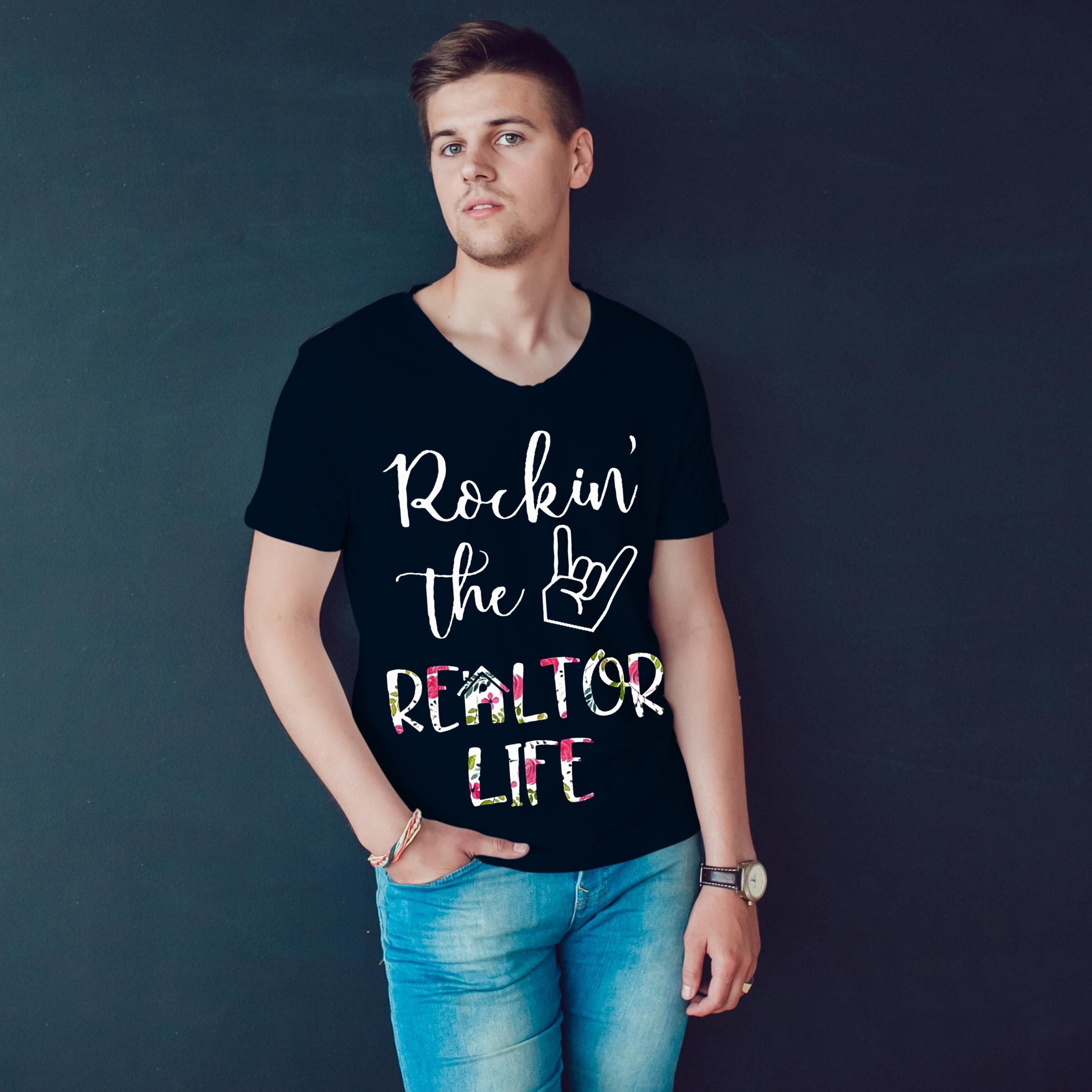 Rockin' The Realtor Life T Shirt