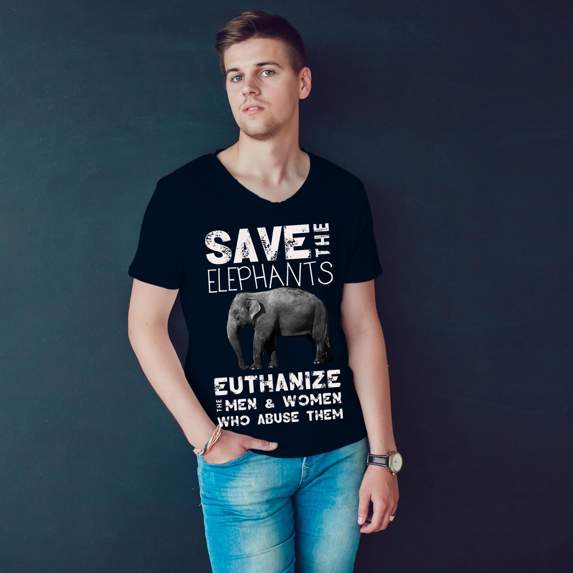 Save The Elephants Euthanize T Shirt