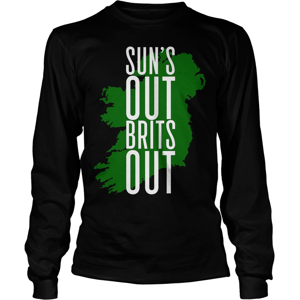 Sun's Out, Brits Out T-Shirt Unisex Longsleeve Tee
