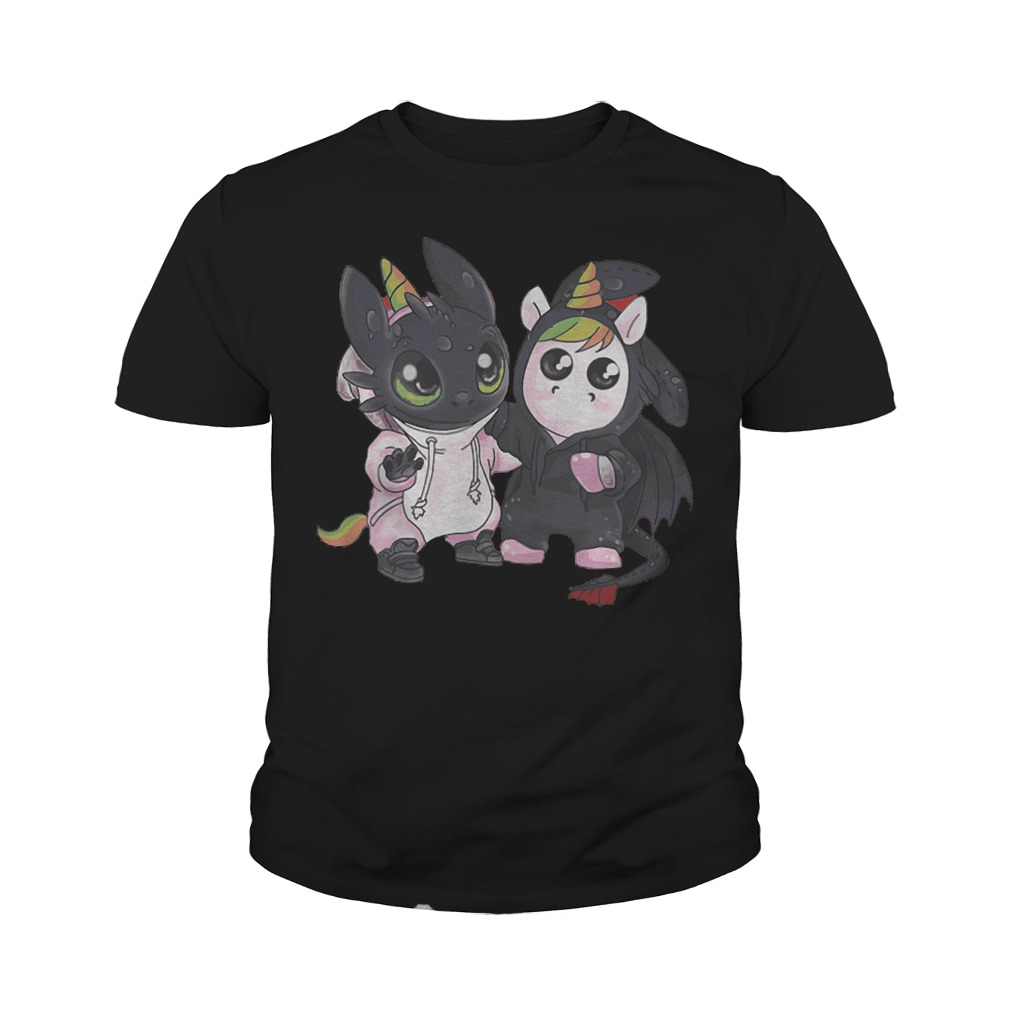 Toothless And Unicorn T-Shirt Youth Tee