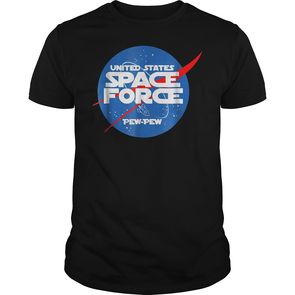 Ussf Us Space Force Pew Pew Space Force Trump T Shirt Guys Tee 2.jpg