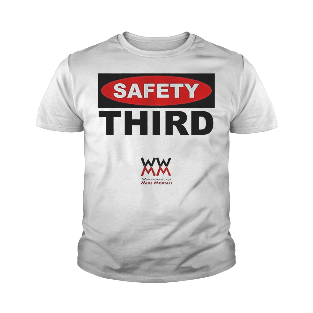 WWMM Safety Third T-Shirt Youth Tee