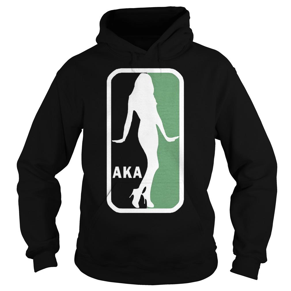 AKA NBA Logo Shirt Hoodie