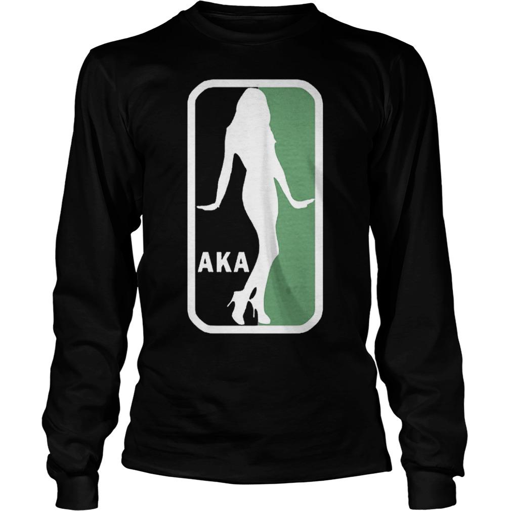 AKA NBA Logo Shirt Longsleeve Tee Unisex