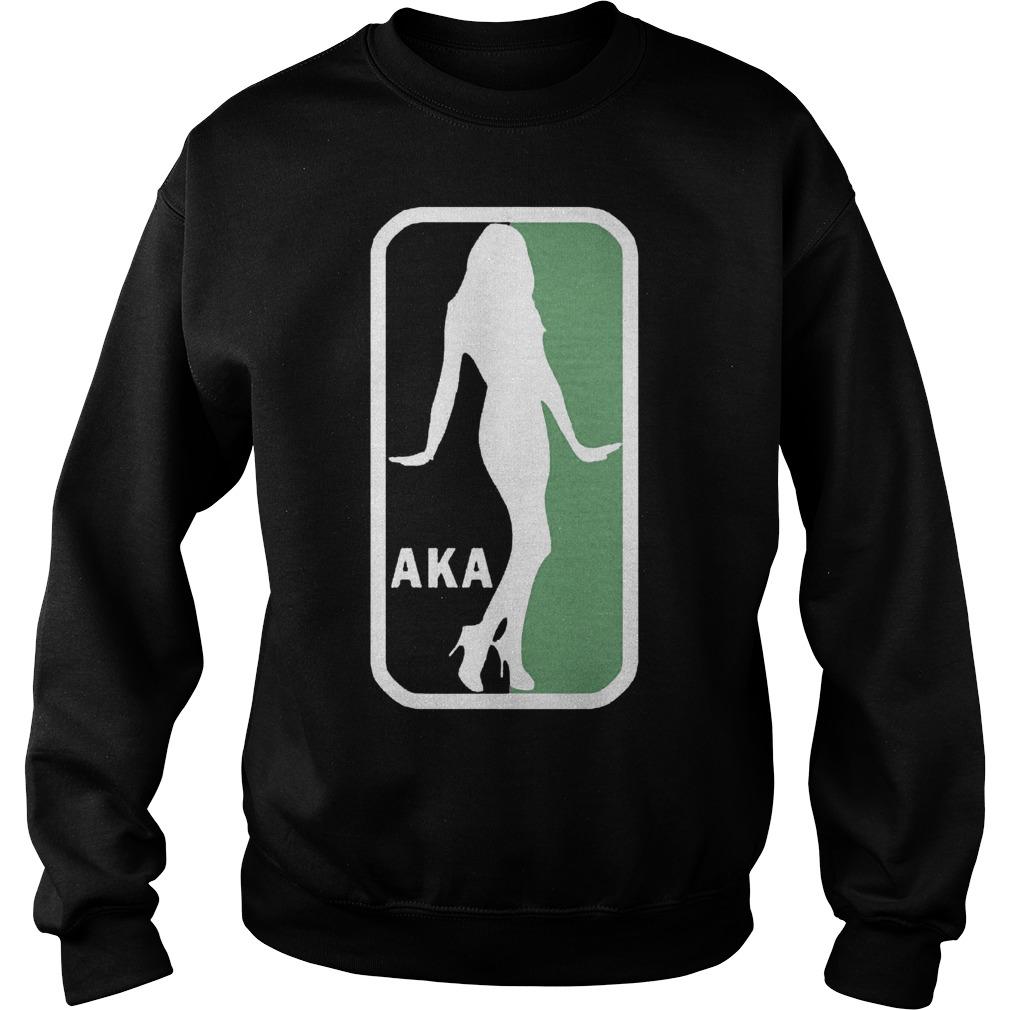 AKA NBA Logo Shirt Sweatshirt Unisex
