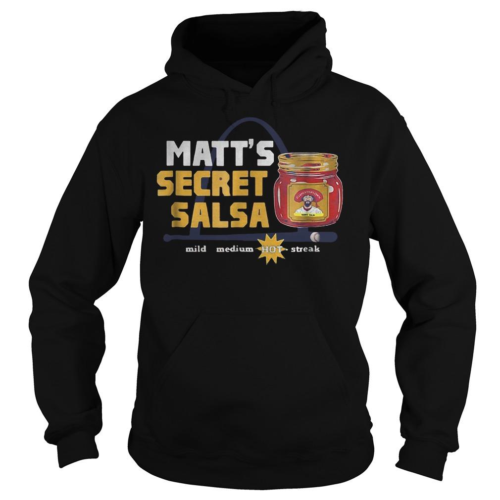 Baseball Carpenter Matts Secret Salsa shirt Hoodie