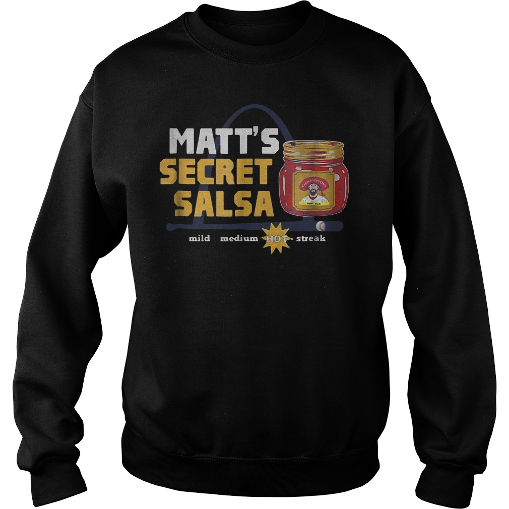 Baseball Carpenter Matts Secret Salsa shirt Sweatshirt Unisex