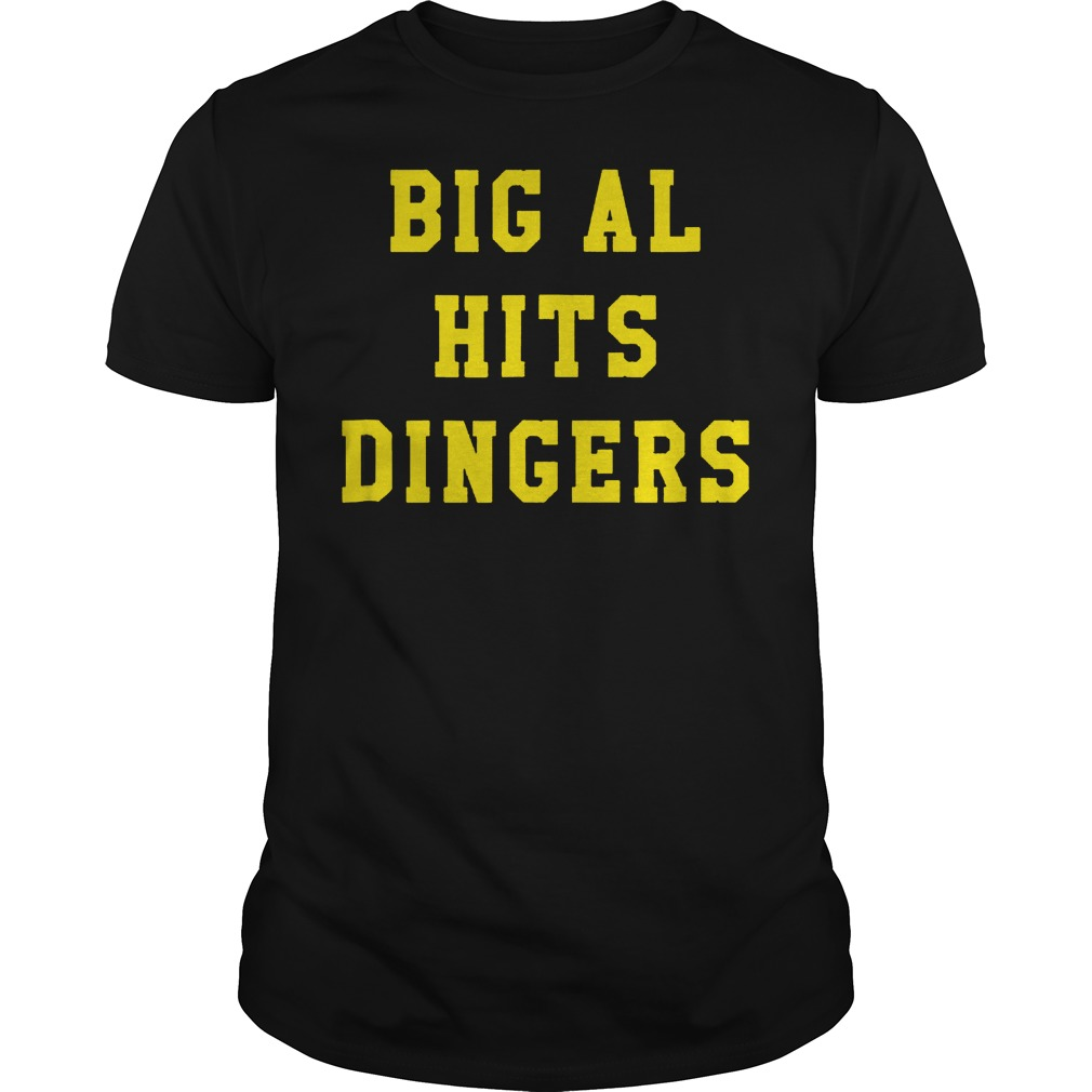 Big Al Hits Dingers shirt