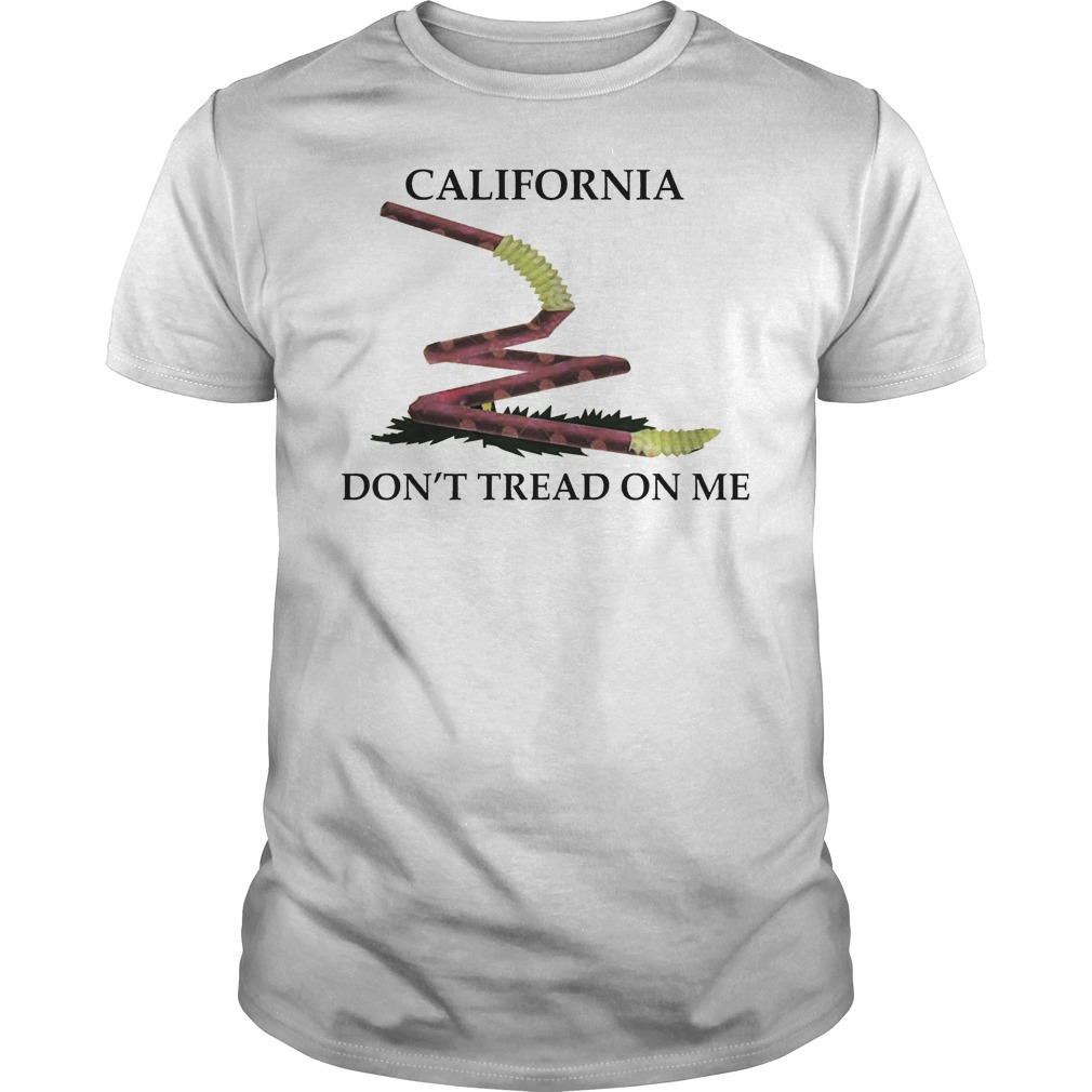 California don't tread on me shirt