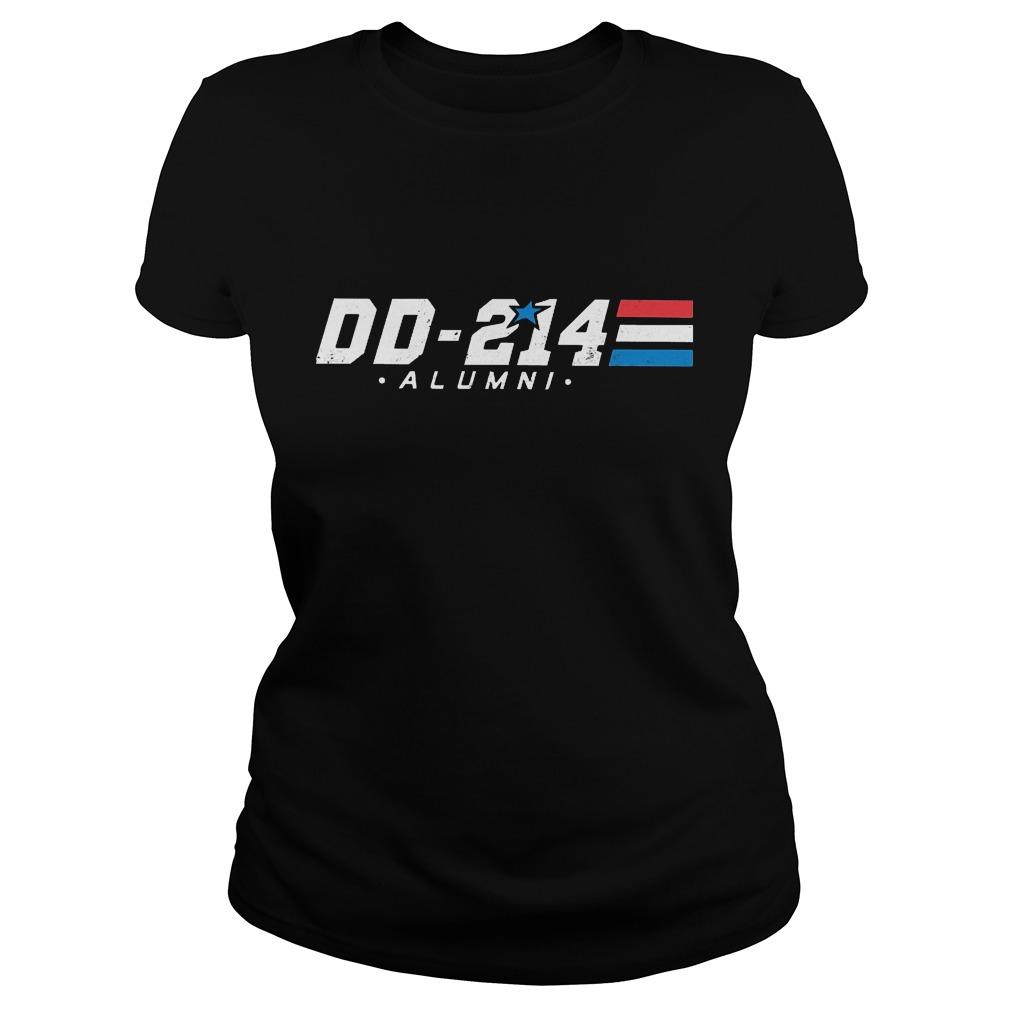 DD-214 - Alumni Veterans Military Shirt Classic Ladies Tee