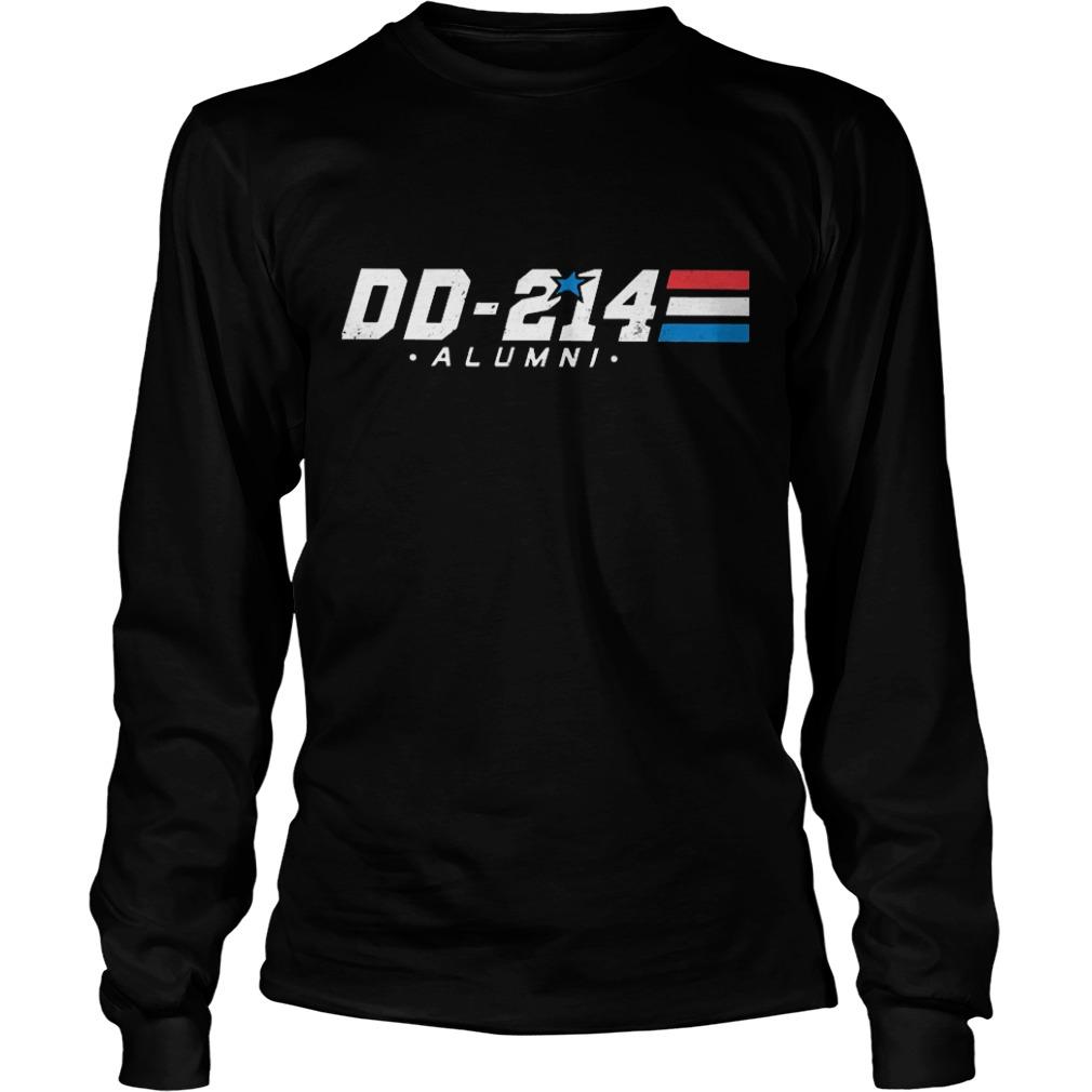 DD-214 - Alumni Veterans Military Shirt Longsleeve Tee Unisex