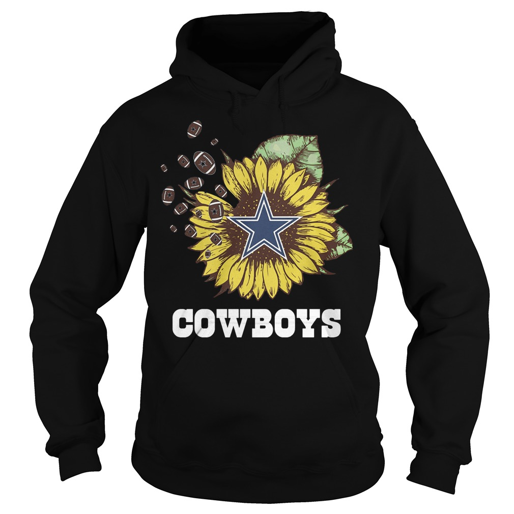 Dallas Cowboys sunflower shirt Hoodie