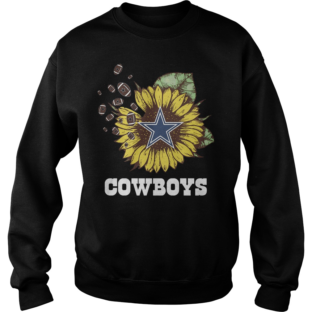 Dallas Cowboys sunflower shirt Sweatshirt Unisex