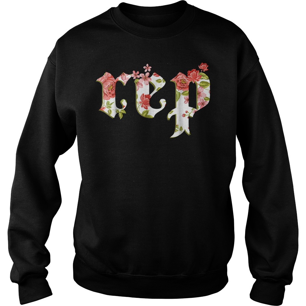 Floral Flowers Swift Rep Tour Novelty shirt Sweatshirt Unisex