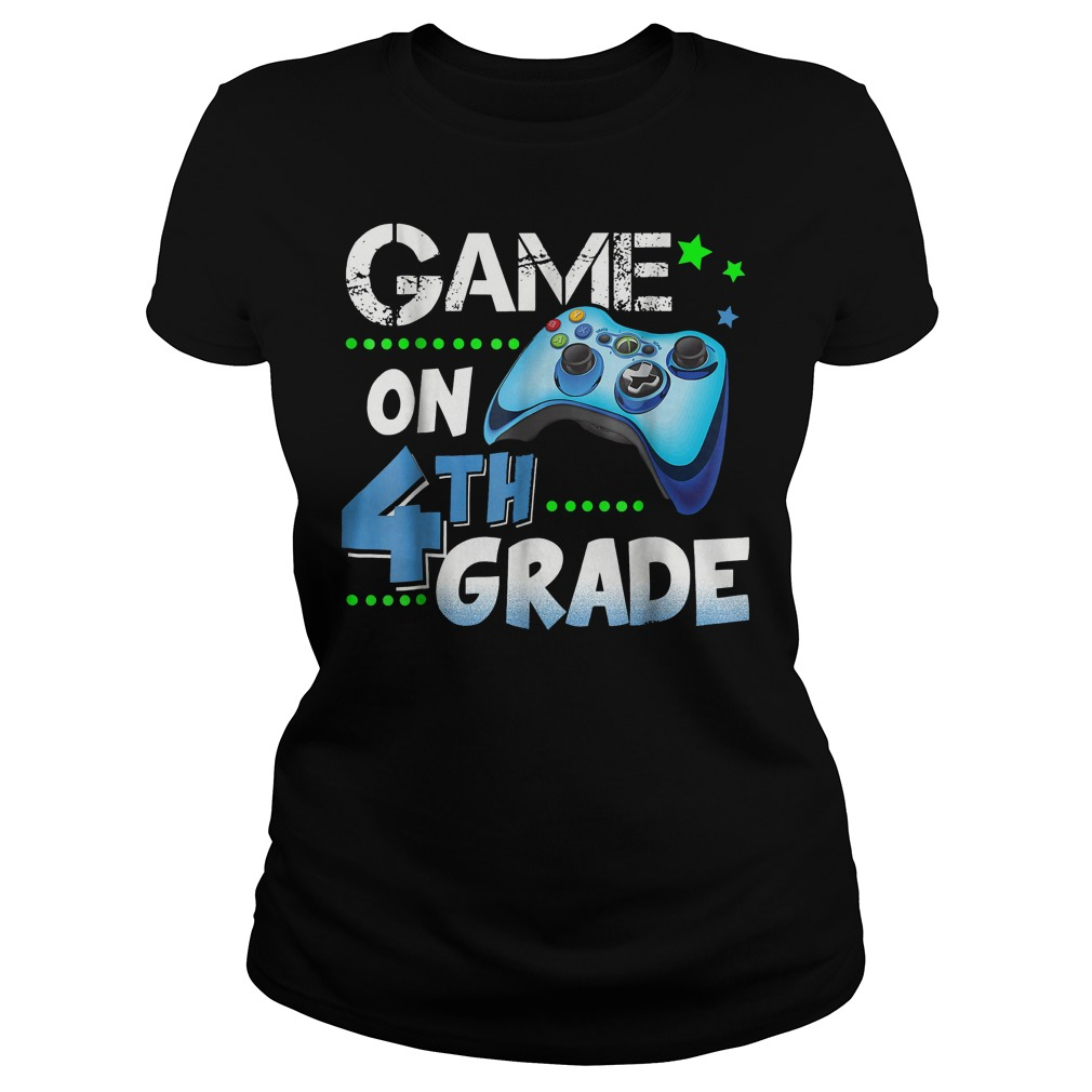 Game On 4th Grade Classic Ladies Tee
