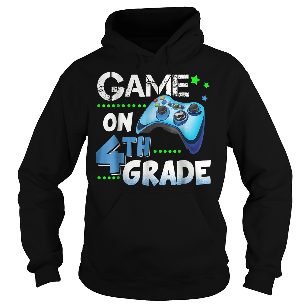 Game On 4th Grade Hoodie