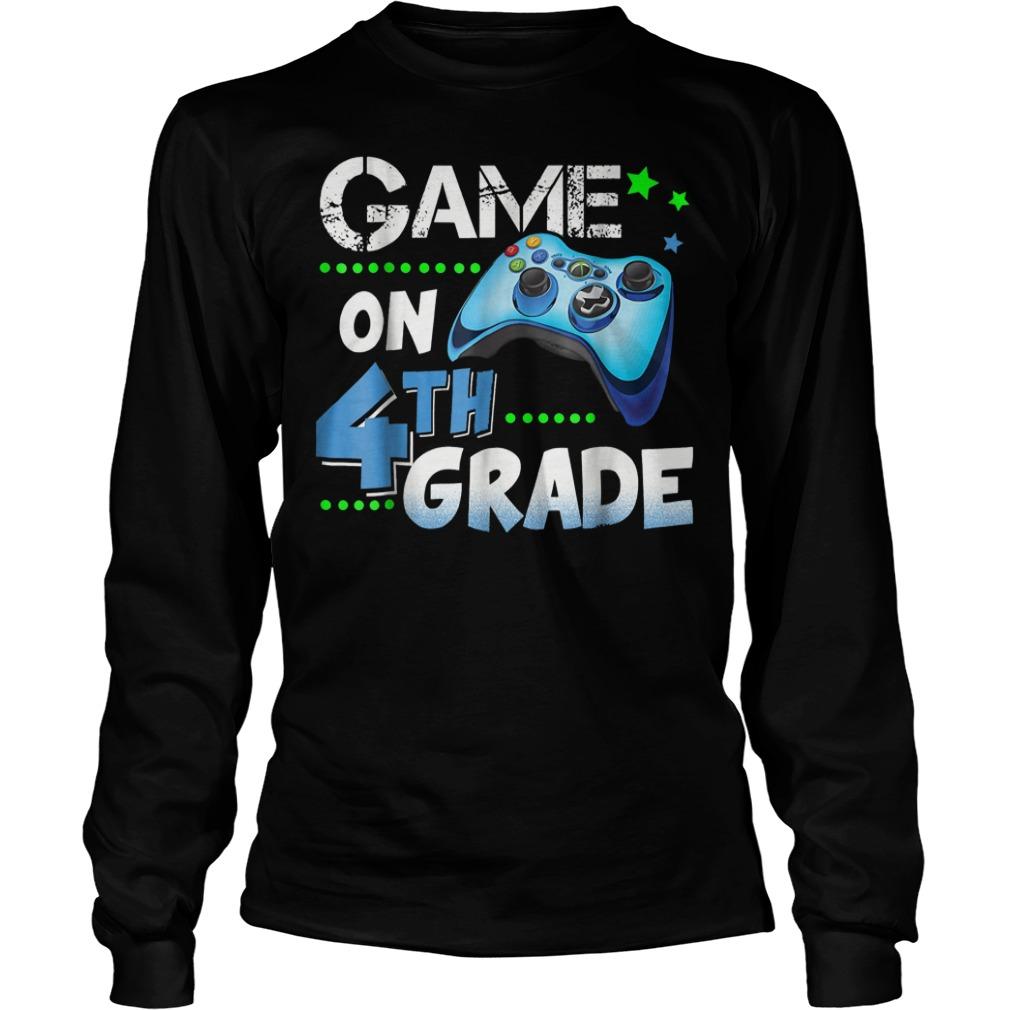 Game On 4th Grade Longsleeve Tee Unisex