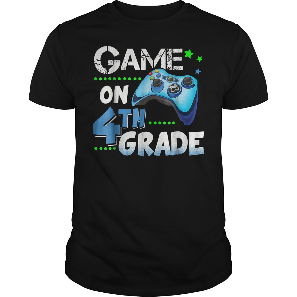 Game On 4th Grade Shirt