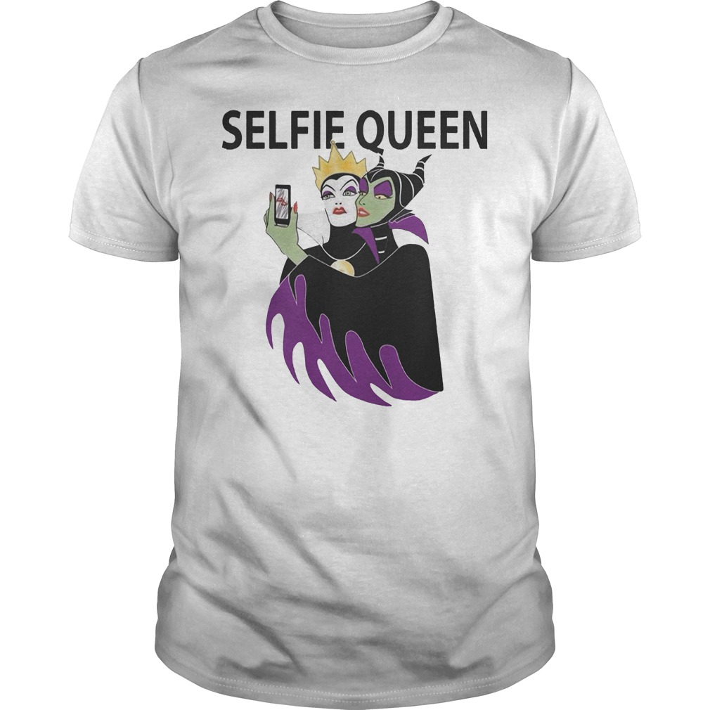 Grimhilde and Maleficent selfie queen Shirt