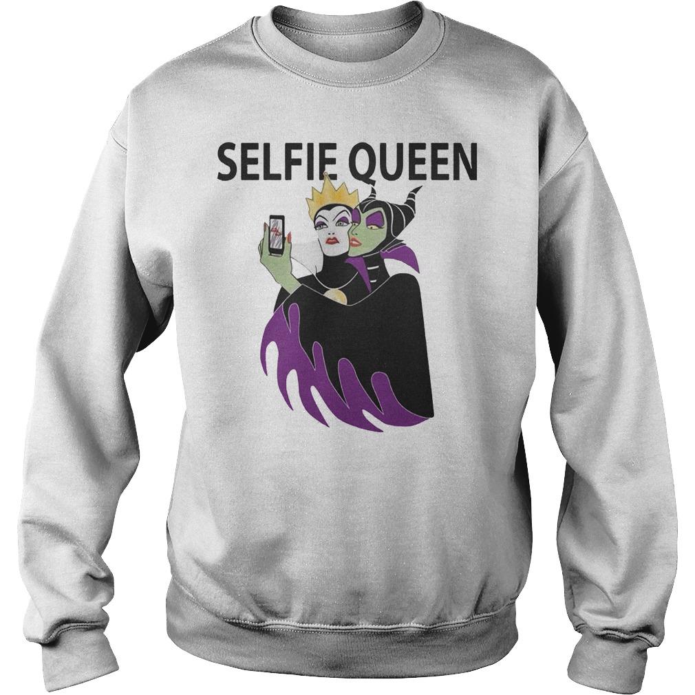 Grimhilde and Maleficent selfie queen Shirt Sweatshirt Unisex