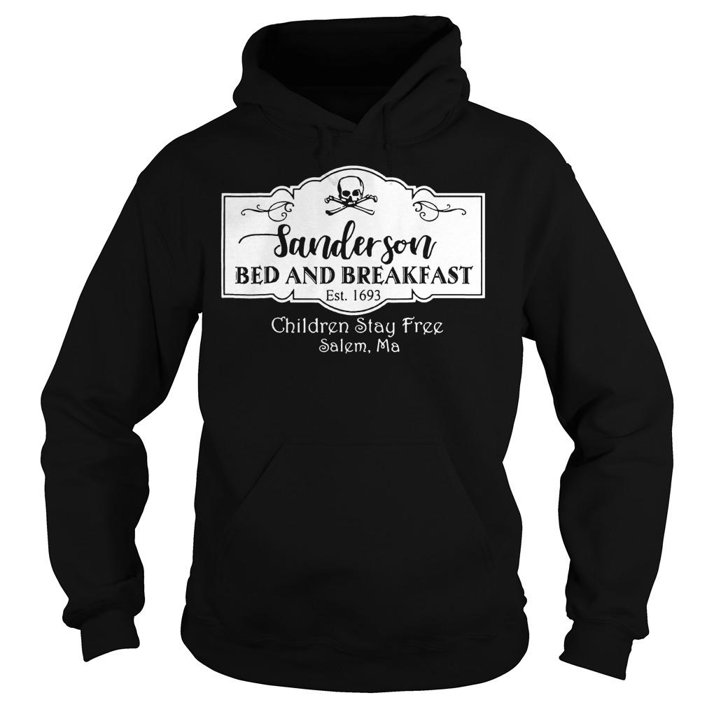 Halloween Sanderson Bed And Breakfast shirt Hoodie