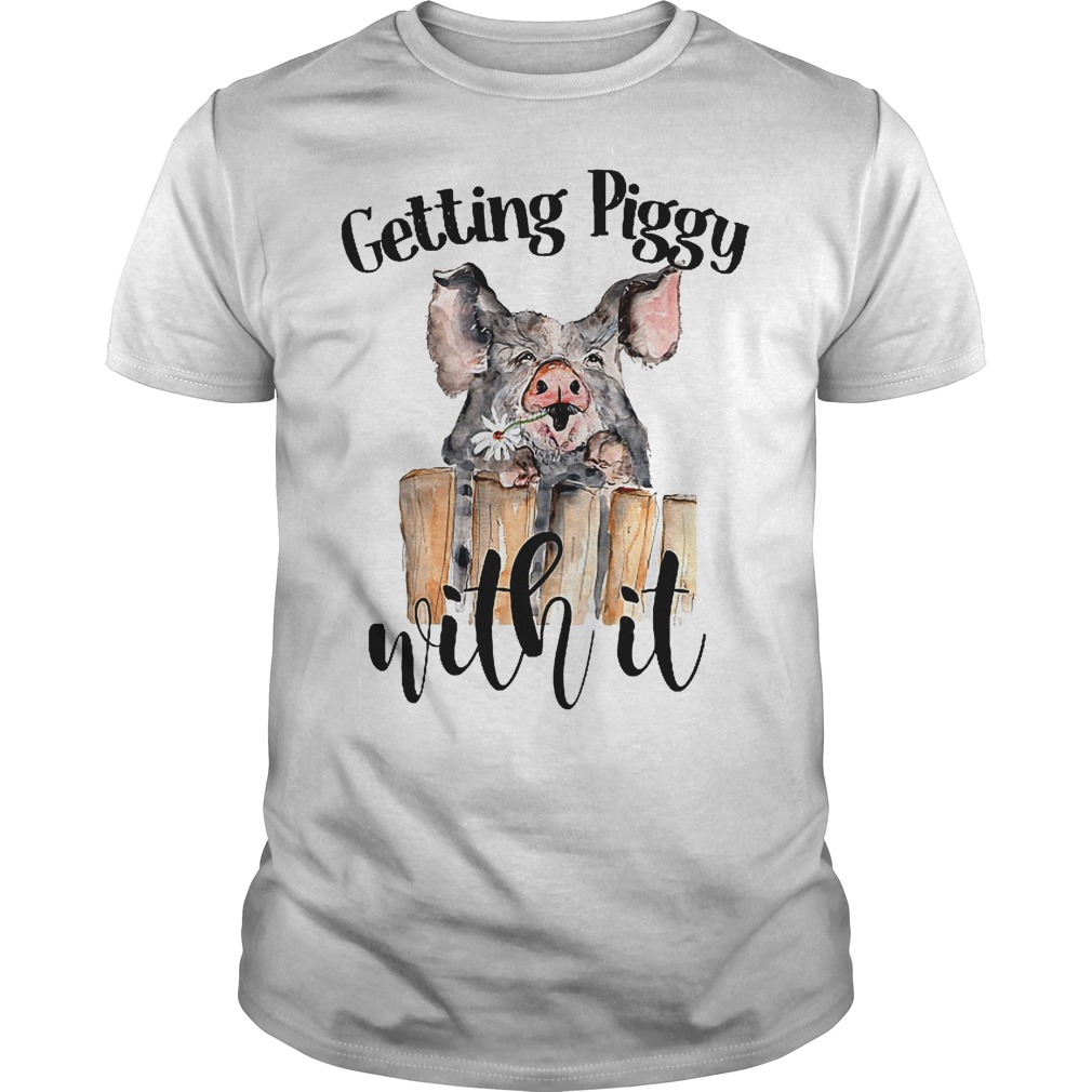 Hippie Getting piggy with it shirt